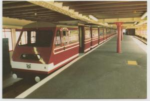 Essex; Southend On Sea, The Pier Train In Station PPC, Unposted, Lynn Tait 1986