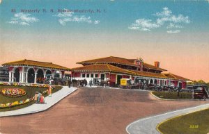 Westerly Rhode Island Railroad Station Postcard AA2352