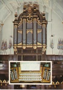 England London The Organ Royal Air Force Church Of St Clement Danes
