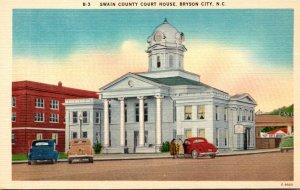 North Carolina Bryson City Swain County Court House
