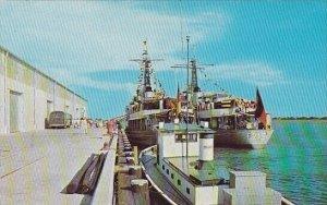 Dock Scene Port Royal South Carolina 1967