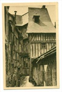 Caudebec-en-Caux , France , 1910s   De Rouen au Havre, Vieilles Maisons, Rue ...
