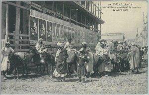 80207  -  Maroc MOROCCO  - VINTAGE POSTCARD -   Casablanca   1912
