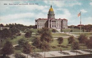 Colorado Denver State Capitol And Grounds