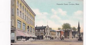 LEWISTON , Maine, 00-10s ; Haymarket Square