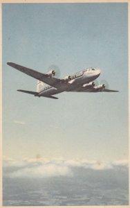 Airplane, Scandinavian Airlines System, Four-Engined SAS Aircraft, Douglas DC-6