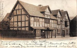 BR94512 shakespeare s house stratford upon avon   uk