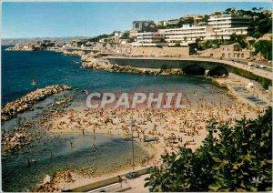 Postcard Modern B R Marseille Corniche Anse du Prophete