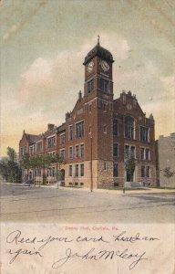 CARLISLE, Pennsylvania, PU-1907; Denny Hall