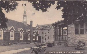 New Jersey Collingswood Saint Johns R C Church 1945