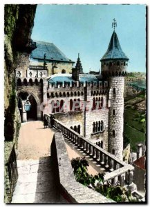 Postcard Modern Rocamadour L & # 39Ancien Palace of Bishops of Tulle