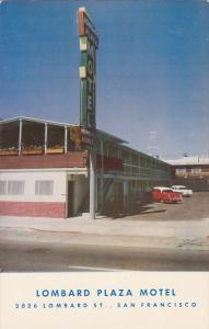 Lombard Plaza Motel, SAN FRANCISCO, California, 40-60'