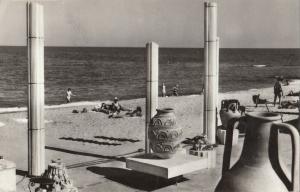 Romania Eforie Nord plaja 1970