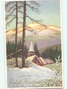 Mid-Century Era GREAT SCENE Scarce Foreign Postcard AA6796