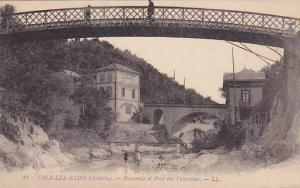 Vals-Les-Bains (Ardeche) France , 00-10s : Passerelle et Pont des Vivaraises
