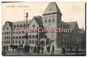 Postcard Metz Old Main Post Office