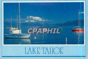 Modern Postcard Lake Tahoe California Nevada