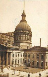 LP06 St. Louis  Missouri Postcard RPPC Court House