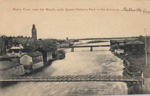BELLEVILLE , Ontario, 1900-10s ; Moira River Bridges