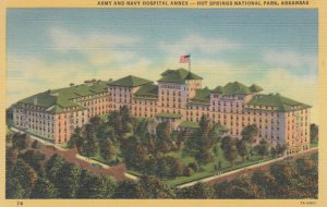 HOT SPRINGS, Arkansas, 1930-40s; Army and Navy Hospital Annex