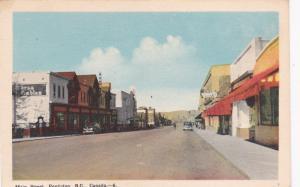 PENTICTON , B.C. , Canada , 30-40s ; Main Street