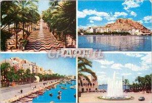 Postcard Modern Alicante