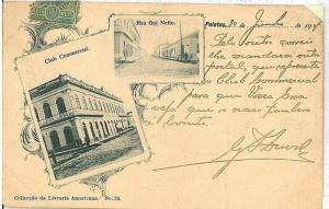 VINTAGE POSTCARD: BRAZIL - PELOTAS 1904