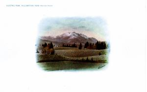 Electric Peak, Yellowstone National Park, 1904-07