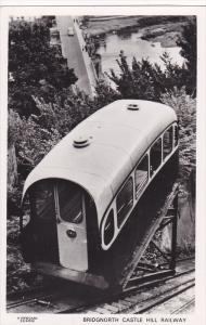 RP: Railway , Bridgnorth Castle ,Bridgnorth, Shropshire , England , 30-40s