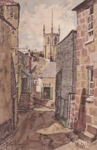 AS, Partial Street View, The Warren, ST. IVES (Cornwall), England, UK, 1900-1...