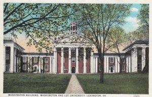 LEXINGTON, Virginia, 1900-10s; Washington Building, Washington & Lee University