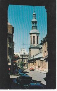 Vue De La Basilique,  Rue Buade,  Quebec,  Canada,  PU_1960