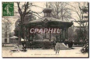 Troyes Old Postcard kiosk music