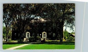 Kingston RI-Rhode Island, East Hall, University Of Rhode Island, Chrome Postcard