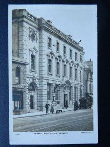 Devon TORQUAY The General Post Office c1909 RP Postcard by Visick / W.C. Edwards