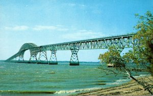 Maryland Newburg Potomac River Bridge On U S Route 301