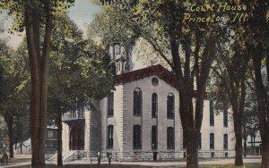 PRINCETON, Illinois, 1900-10s; Court House