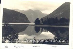 Norway, Norwegian, Norge, Norske Nordfjord Mindresunde Real Photo