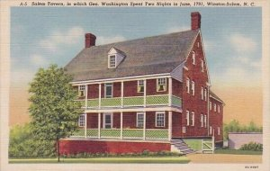 Salem Tavern In Which Geo Washington Spent Tow Nights In June 1791 Winston Sa...