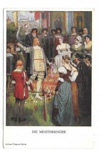 Opera Die Meistersinger Richard Wagner Austria Vienna M Munk Nr 861 Postcard