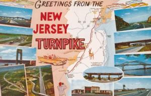 New Jersey Greetings From The New Jersey Turnpike