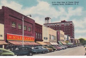 GOLDSBORO , North Carolina , 30-40s ; East Side Center Street