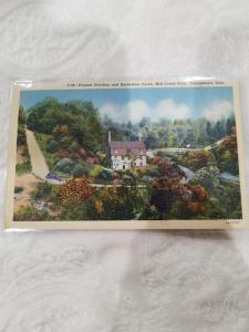 Antique/Vintage Postcard, Pioneer Pavilion and Horseshoe Curve, Mill Creek...