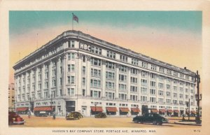 WINNIPEG, Manitoba, Canada, 1900-1910's; Hudson's Bay Company Store