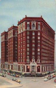 Hotel Syracuse Old CArs Syracuse NY Chrome VTG P127