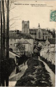 CPA  Chaumont-en-Vexin - L'Eglise St-Jean-Baptiste     (291538)
