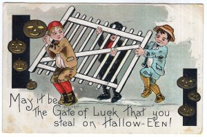 May it be The Gate of Luck that you steal on Hallow-Een!