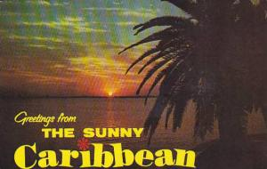 Greetings from the Sunny Carribean, Netherland Antilles, PU-1975