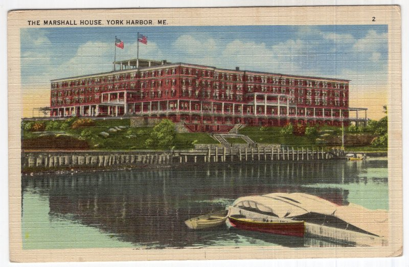 York Harbor, Me, The Marshall House