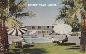 Swimming Pool, Classic Cars, Exterior View of Desert Star Motel, Blythe, Cali...